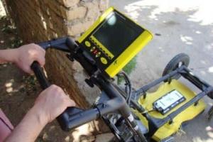 روش کار کردن با دستگاه تشخیص ترکیدگی لوله در مجیدیه